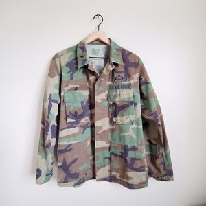 AUTHENTIC AIR FORCE CAMO JACKET MENS